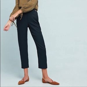 Anthropologie The Essential Pull On Trouser Blue
